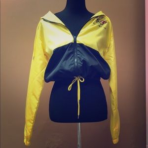 Corvette Black an yellow racing jacket